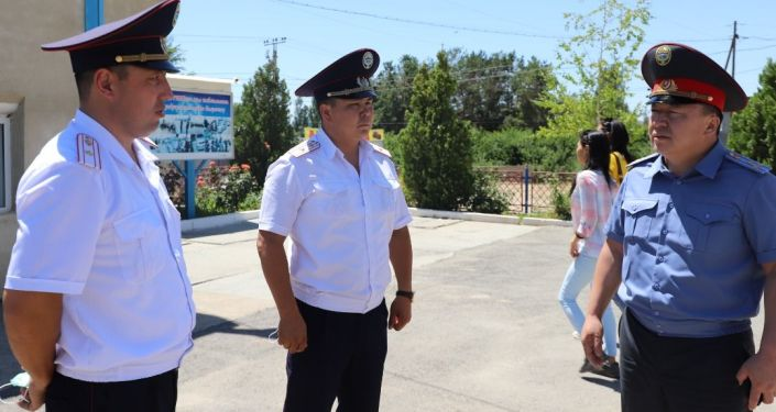 Замминистра внутренних дел Октябрь Урмамбетов проинспектировал несение службы нарядами ГУОБДД, УОБДД по ГУВД Чуйской области и УОБДД по УВД Иссык-Кульской области. 24 июля 2021 года