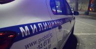 Автомобиль патрульной милиции во время ночного дозора. Иллюстративное фото
