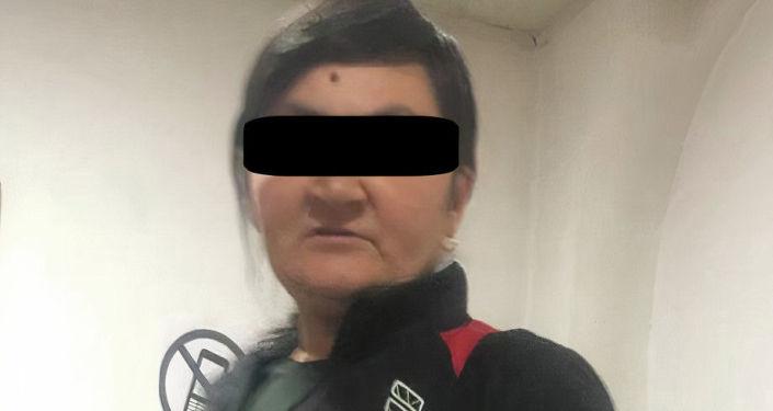 Гражданка Кыргызстана, у которой изъяли почти 9 килограммов гашиша. 26 июля 2021 года