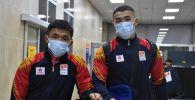Бүгүн, 27-июлда, Кыргызстандын грек-рим күрөшү боюнча Олимпиадалык курама командасы Токиого сапар алды