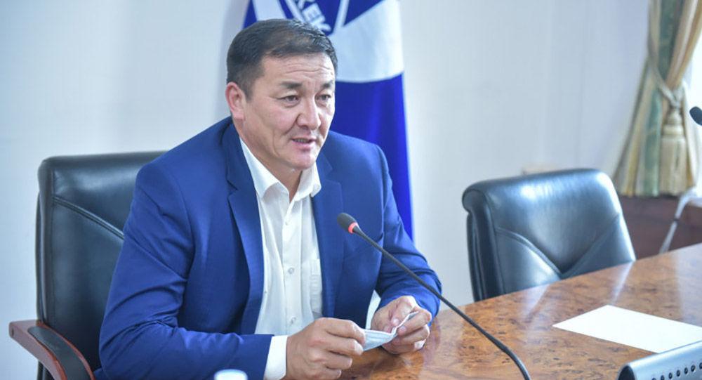 Вице-мэр Бишкека Жамалбек Ырсалиев. Архивное фото