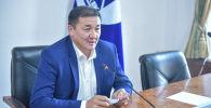 Бишкектин вице-мэри Жамалбек Ырсалиев. Архивдик сүрөт