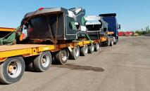 В Кыргызстан привезли новое рабочее колесо гидроагрегата для Токтогульской ГЭС