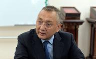 Заместитель председателя Совета безопасности КР Таалатбек Масадыков. Архивное фото