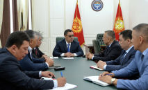 Президент Садыр Жапаров Коопсуздук кеңешинин төрагасынын орун басары Таалатбек Масадыковду кабыл алды