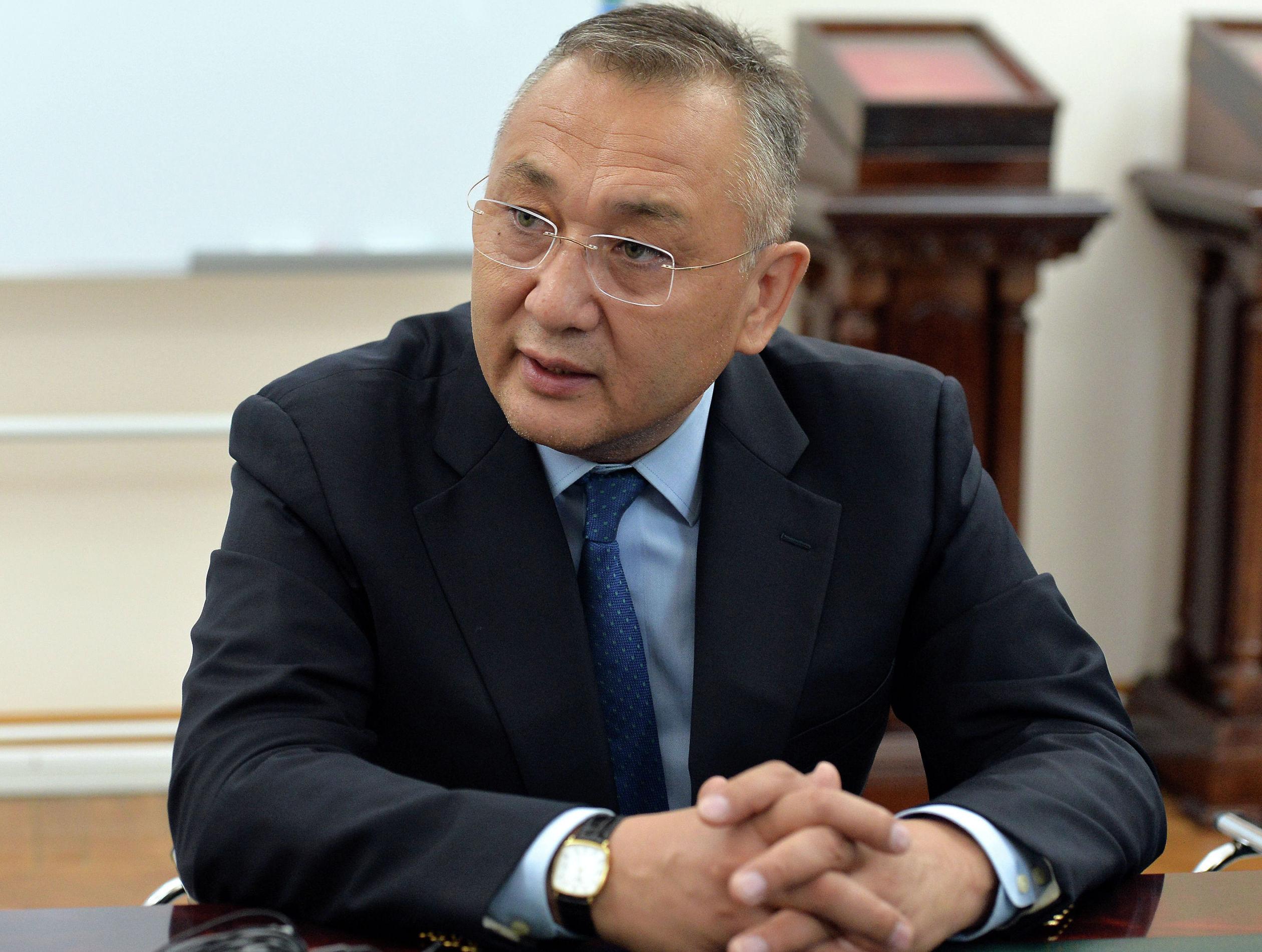 Заместитель председателя Совета безопасности Кыргызской Республики Таалатбек Масадыков