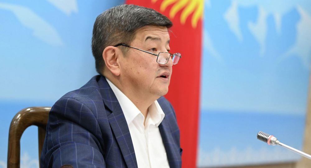Кандидат в главы кабинета министров Акылбек Жапаров. Архивное фото