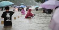 Последствия наводнений в Чжэнчжоу, Китай