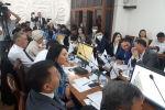 Депутаты Бишкекского городского кенеша на первой сессии