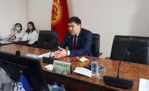 Депутат БГК Куванычбек Конгантиев от партии Ата-Журт Кыргызстан