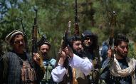 Люди с оружием в провинции Герат в Афганистане. Архивное фото