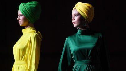 Модели на показе мод в Казани
