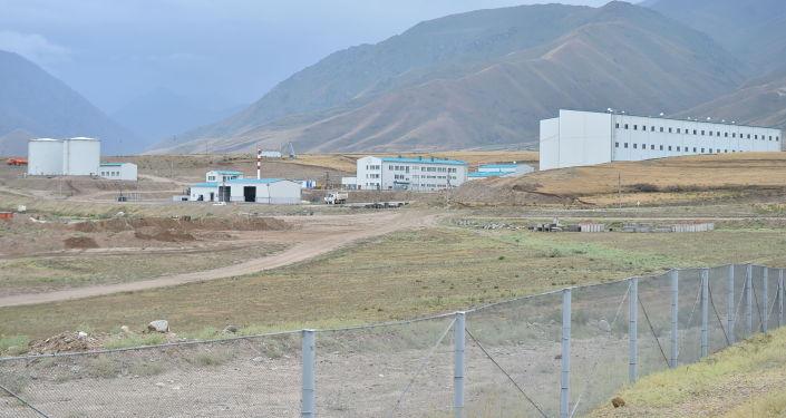 Золоторудный комбинат на месторождении Джеруй в Таласской области