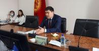 Бишкек шаардык кеңешинин төрагасы Кубанычбек Конгантиев