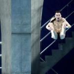Обычно в интернете делают мемы из лиц спортсменов, которые прыгают с высоты или же бегут на длинную дистанцию. Возможно, и эти кадры пополнят ряды мемасиков.