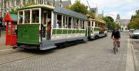 Жаңы Зеландиядагы Крайстчерч шаары. Архивдик сүрөт