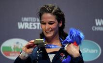 Чемпионка мира по женской борьбе Аделина Грей. Архивное фото