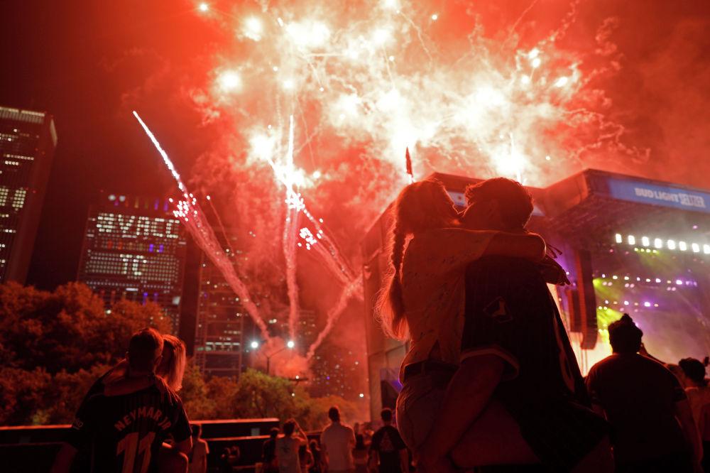 Чикагодогу Lollapalooza фестивалында