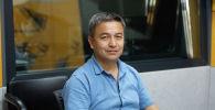 Начальник водного хозяйства муниципального предприятия Бишкекзеленхоз Радик Жумабек уулу