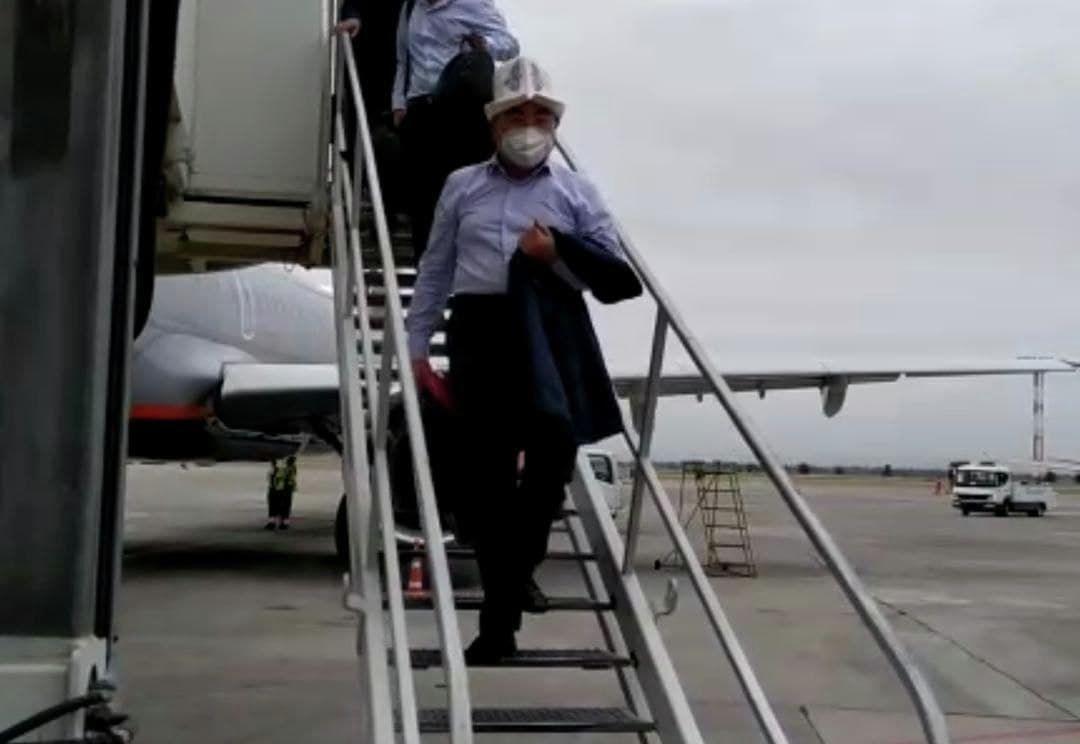 Бывший президент Кыргызстана Аскар Акаев