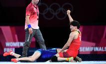 Айсулуу Тыныбекованын Токио Олимпиадасынын жарым финалында