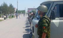 На кыргызско-таджикской границе проводится совместная специальная пограничная операция по противодействию контрабанде
