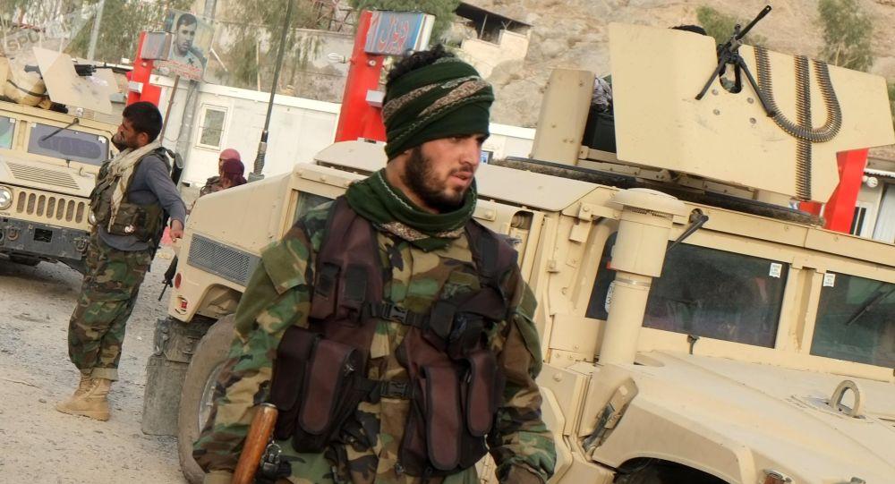 Афганистан өкмөтүнүн аскерлери