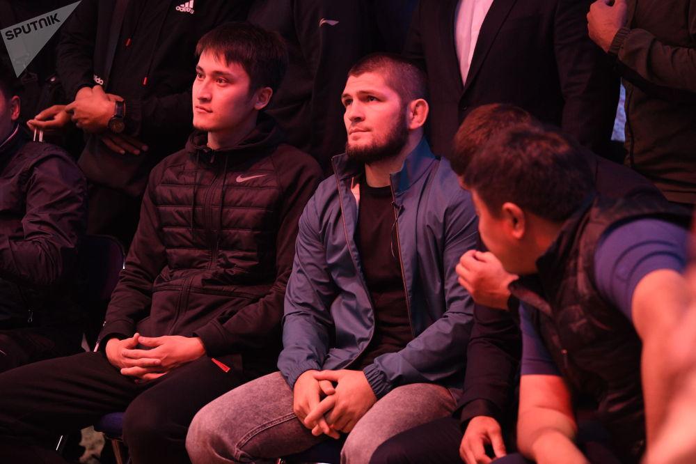 Ысык-Көлдөгү турнирге Хабиб Нурмагомедов конок катары келди