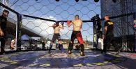В Чолпон-Ате стартовал чемпионат мира по пяти видам боевых искусств Единство–2021. Соревнования приурочены к перекрестному году Кыргызстана и России.