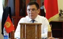Бишкек шаарынын мэринин милдетин аткаруучу Таалайбек Сарыбашов