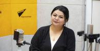 Эксперт по дезинфекции Жамал Токтосунова на радио Sputnik Кыргызстан