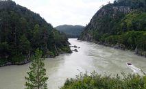 Алтайдагы Катунь дарыясы. Архив