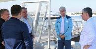 Президенты стран Центральной Азии на яхте в Каспийском море