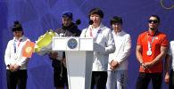 Кыргызстандык балбан Айсулуу Тыныбекова Олимпиададан убадалаган алтын медалды ута албай калганы үчүн элден кечирим сурады.