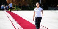 Токио Олимпиадасынын катышуучусу Каныкей Кубанычбекова