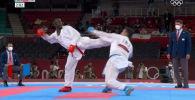 Иранец Саджад Ганджзаде добыл необычную победу в финале турнира по карате на Олимпийских играх в Токио. От удара соперника он упал без чувств, его унесли из зала на носилках, а когда очнулся, он узнал, что стал чемпионом.