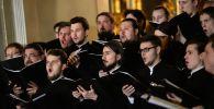 Хористы духовенства. Архивное фото
