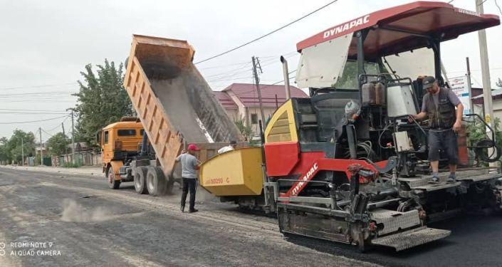 В Бишкеке завершены ремонтные работы на трех улицах