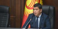 Исполняющий обязанности мэра города Бишкек Айбек Джунушалиев