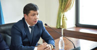 Исполняющий обязанности мэра Бишкека Айбек Джунушалиев