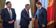 Исполняющий обязанности мэра Бишкека Айбек Джунушалиев представлен коллективу столичного муниципалитета