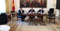 Посольство Кыргызстана в России совместно с представительством МВД Кыргызстана провело встречу с лидерами кыргызских диаспоральных организаций