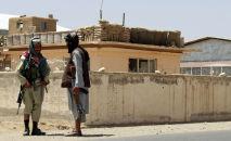 Талибан кыймылынын мүчөлөрү. Архив