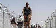 Афганистан менен Пакистандын чек арасындагы аскер кызматери