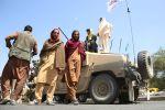 Талибан кыймылынын мүчөлөрү. Архивдик сүрөт