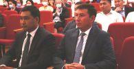 Жаңы дайындалган орун басарлар Руслан Татиков жана Данияр Амангелдиев. Архивдик сүрөт