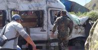 Бишкек — Нарын — Торугарт унаа жолунун Тоң районундагы бөлүгүндө катталган жол кырсыгы