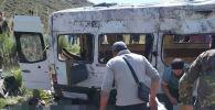 Бишкек — Нарын — Торугарт унаа жолунун Кубакы ашуусундагы жол кырсыгы