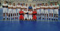 Сборная Кыргызстана по волейболу на тренировках