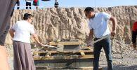 Бишкектин Ак-Ордо конушунда мектеп менен бала бакча салына баштады